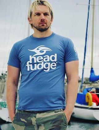 Men's Logo Crew Neck T-shirt - Indigo (D04)