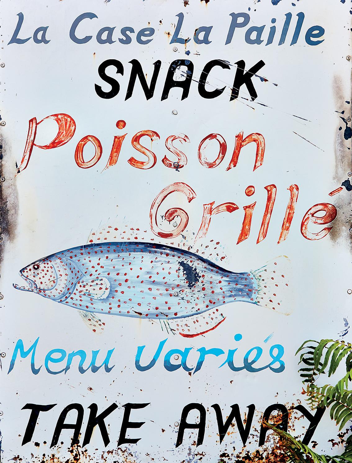 Fresh Fish Stand in Mauritius