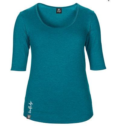Women's Freestyle 3/4 Sleeve T-shirt - TEAL (D64)