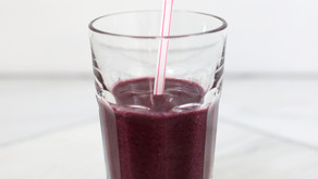 BLUEBERRY SPINACH SMOOTHIE YOUR KIDS WILL LOVE
