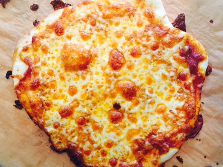 EASIEST PIZZA DOUGH EVER