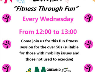 Zumba for over 50s