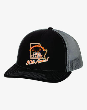 Deer Classic Charcoal Hat- 30th Annual