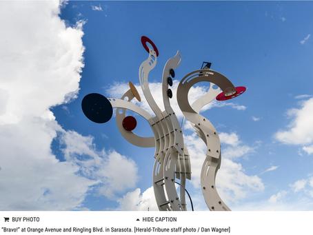 Jorge Blanco's Bravo! A Progressive dinner tour of Sarasota's public art