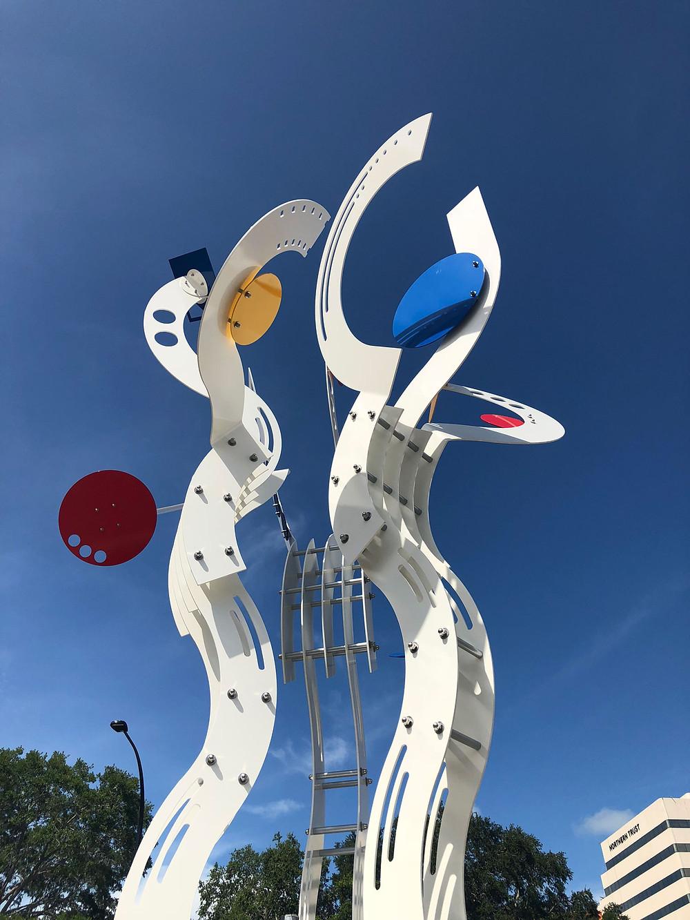 Jorge blanco sculpture Bravo! Sarasota, Florida
