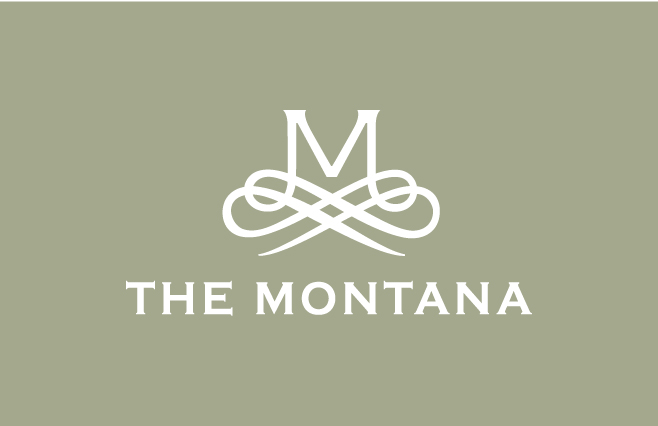 Montana logo small white on green
