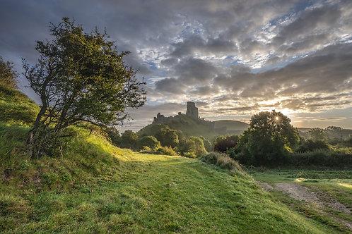 Castle sunburst