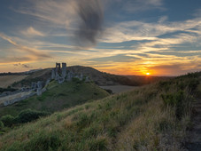 Castle Sunset from East Hill