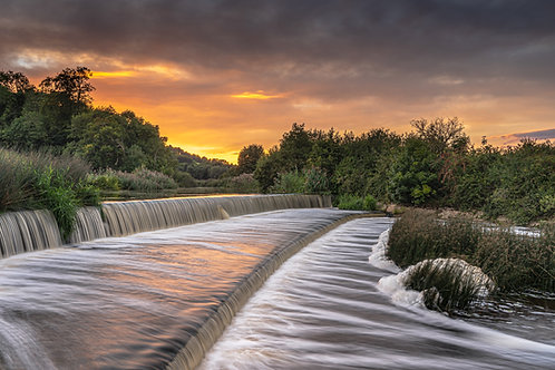 Lost Weir No.3 (landscape version)