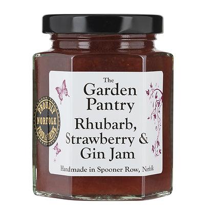 Rhubarb, Strawberry & Gin Jam