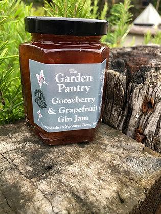 Gooseberry & Grapefruit Gin Jam