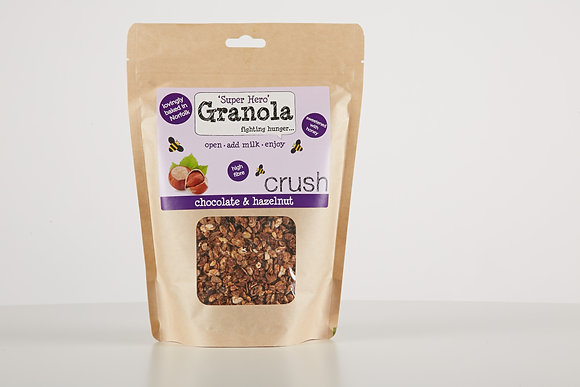 Crush Chocolate & Hazelnut Granola