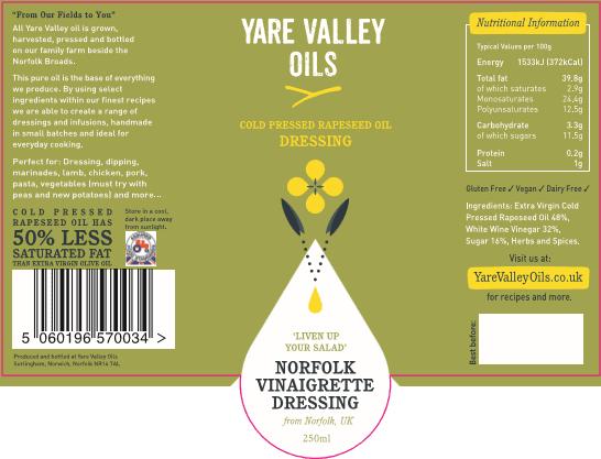 Yare Valley Norfolk Vinagrette