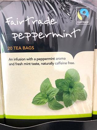 Peppermint tea bags (20)