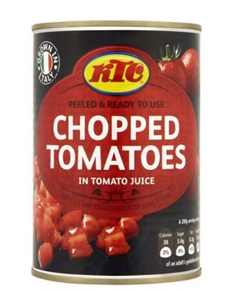 Tinned tomatoes 400g