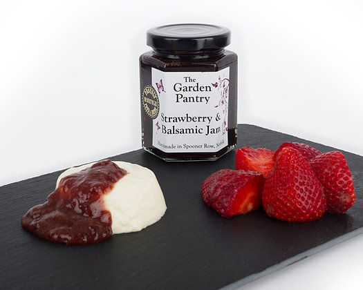 Strawberry & Balsamic Jam