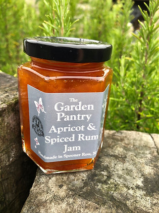 Apricot & Spiced Rum Jam