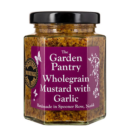 Wholegrain Mustard With Garlic