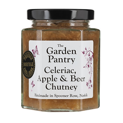 Celeriac, Apple & Beer Chutney