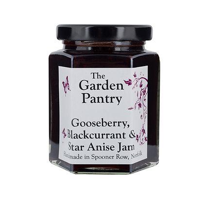 Gooseberry Blackcurrant & Star Anise Jam