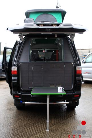 Mitsubishi Delica rear camper conversion