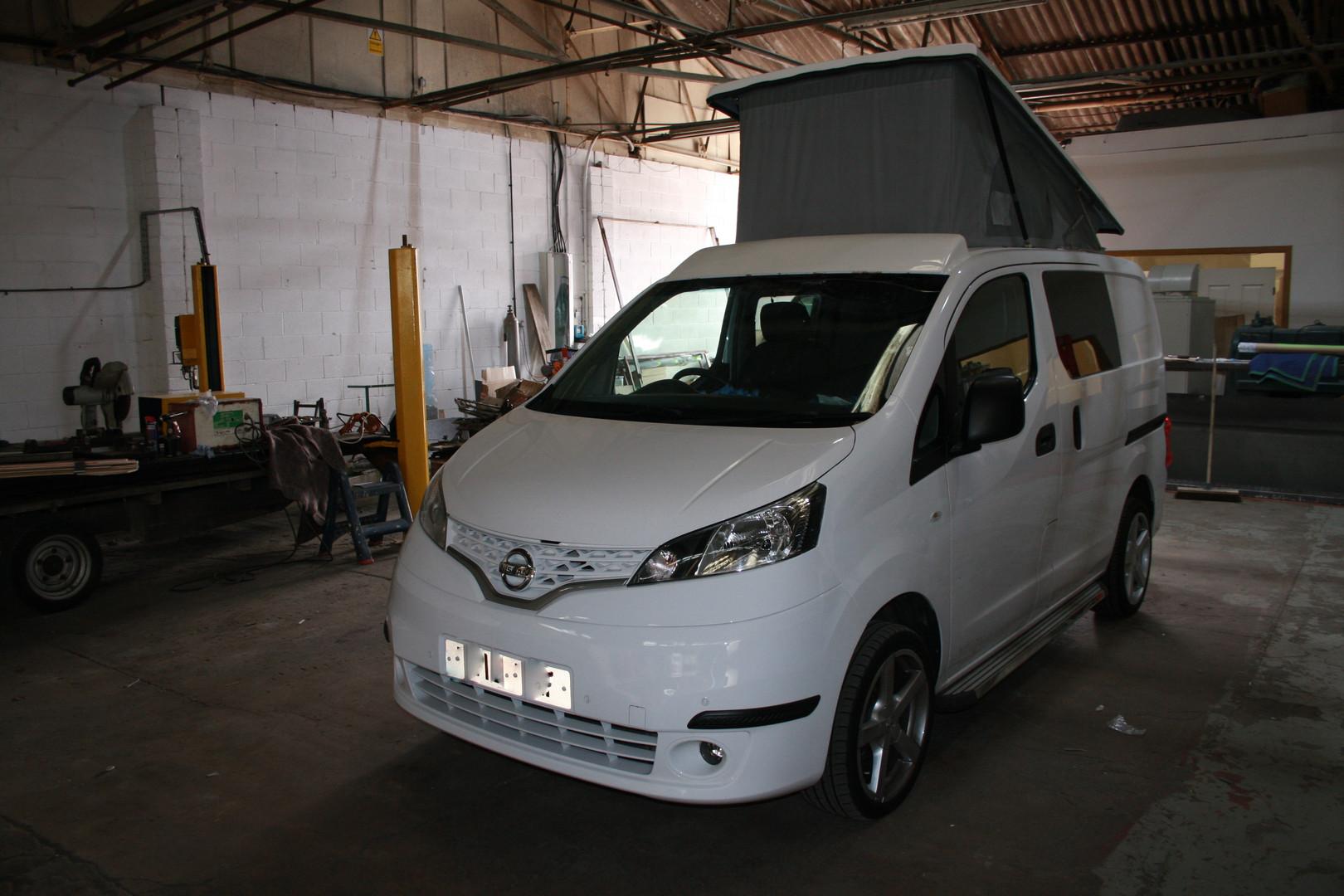 Nissan NV200 Elevating roof