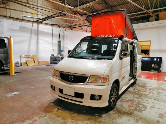 Mazda bongo elevating roof