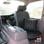 mazda bongo swivel seat re-upholstery.jp