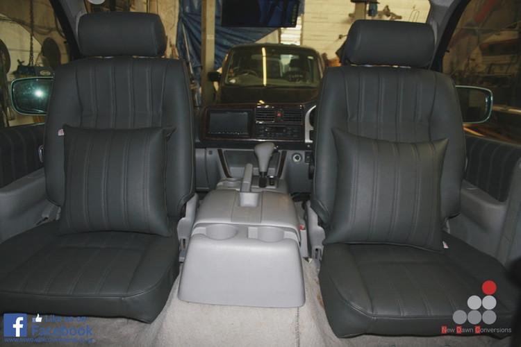 Mazda bongo seat re-upholstery