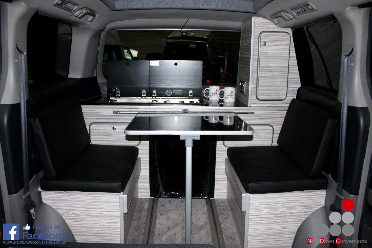 Toyota Alphard camper