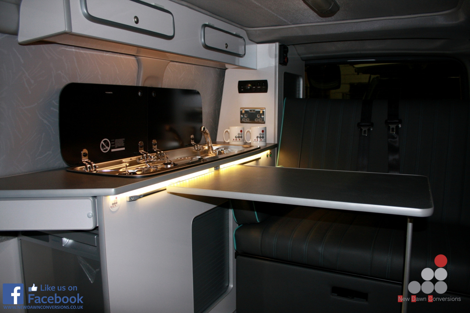 Mazda Bongo side camper conversion