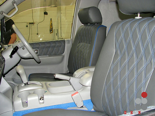 DRIVER AND PASSENGER SEAT RE-UPHOLSTERY