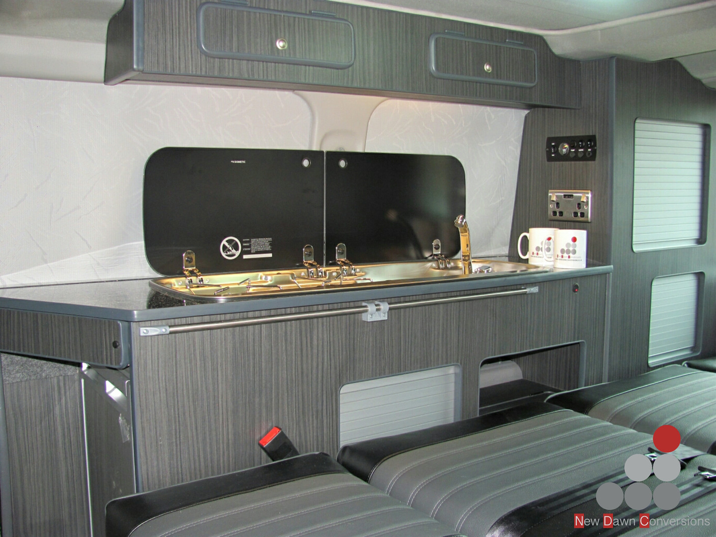 Mazda Bongo side camper conversion