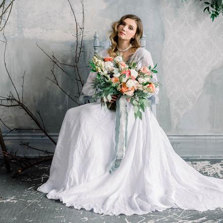 Romantic, Poetic Wedding Inspiration