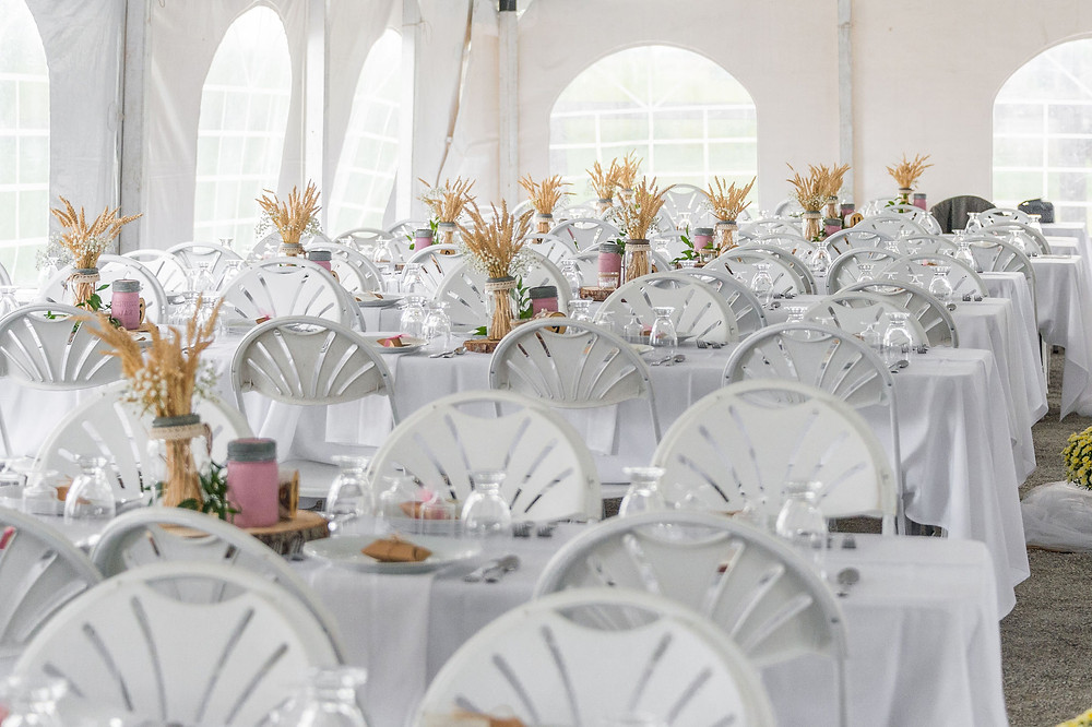 Fall Wedding in a Tent - Month-of Coordination