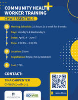 Community Health Worker (CHW) Training