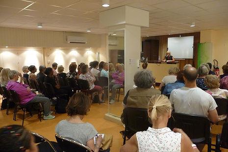 Aline Peugeot conférence Paris Usfipes