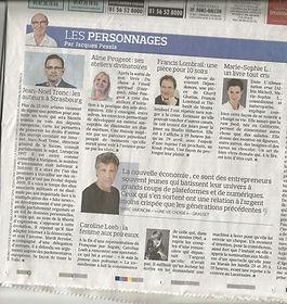 médias auteur connue aline peugeot Jacques Pessis Le Figaro développement personnel