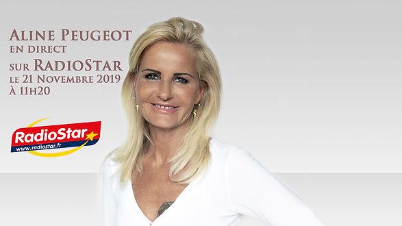 Aline Peugeot - RadioStar le 21.11.2019.