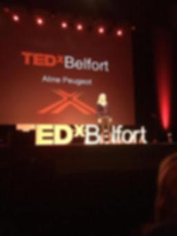 TEDx aline peugeot Belfort