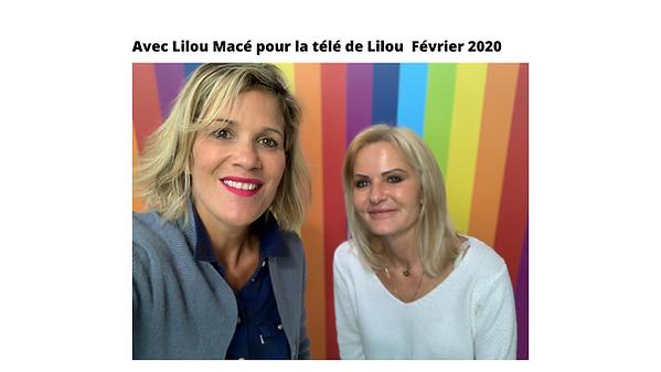 Lilou Macé avec Aline Peugeot célèbre auteur pour la télé de Lilou