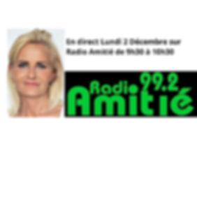 Aline Peugeot Célèbre auteur en direct méadia radio