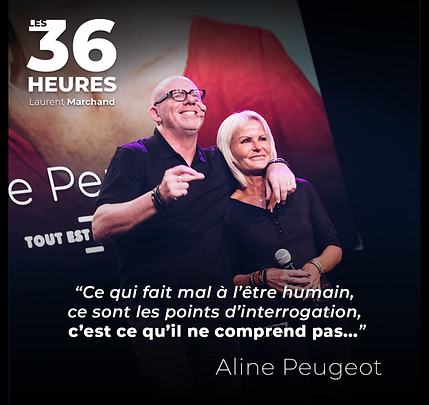 Aline Peugeot Star internationale