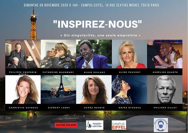 célébrités VIP Racine Solaire  exclusivité Paris 2020