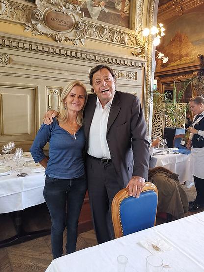 Alain Guilhot fete de lumieres Lyon aline peugeot vip célèbre célèbrité