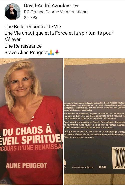Aline Peugeot David Azoulay connu célèbre auteure
