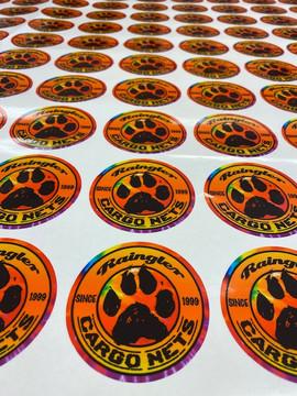 Stickers for Raingler Nets