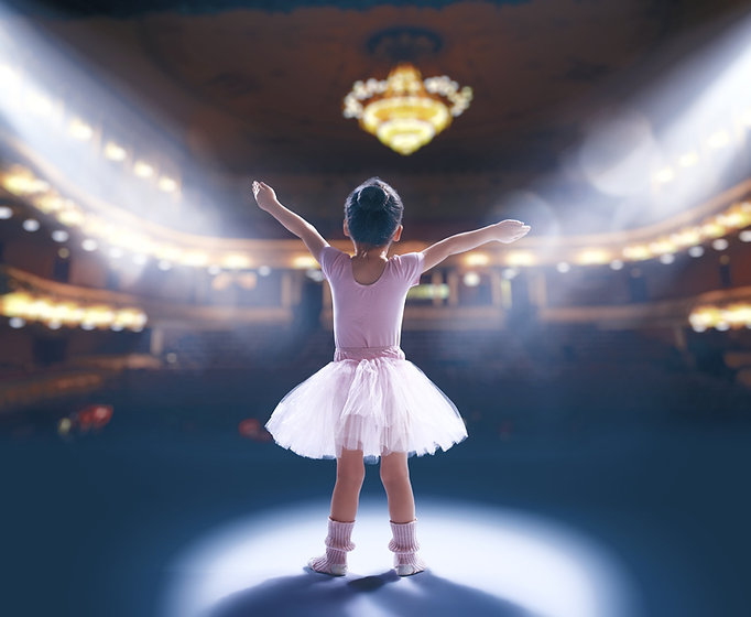 Cute%20little%20girl%20dreaming%20of%20becoming%20a%20ballerina.%20Child%20girl%20in%20a%20pink%20tu