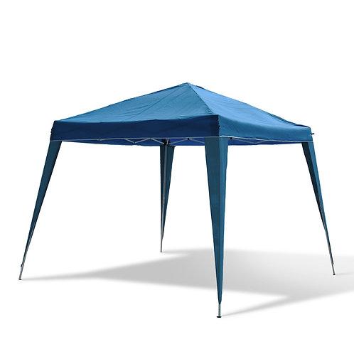 Faltpavillon Gartenzelt 2.6 x 2.6 m blau