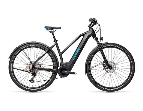 Cube Cross Hybrid Race 625 Allroad Lady black´n´blue Damen